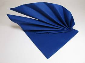 Serviette voie sèche gala - Bleu roi
