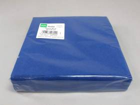 Serviette ouate 40x40cm - Bleu Roi