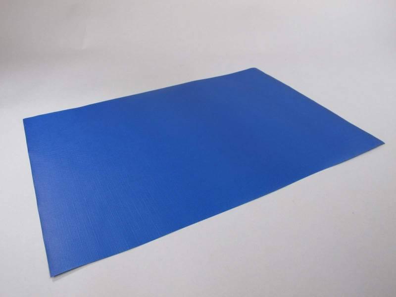 Set De Table Papier Plaza Bleu Roi X500
