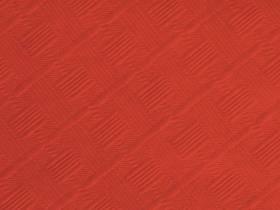 50m Nappe en papier damassé mundo - Rouge