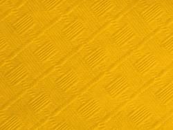25m Nappe en papier damassé mundo - Jaune Passion