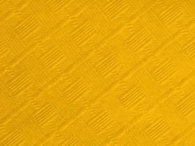 10m Nappe en papier damassé Mundo - Jaune Passion