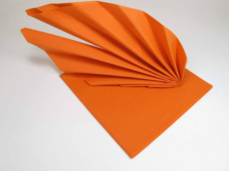 Serviette voie sèche gala - Orange