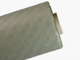 10m Nappe en papier damassé Mundo - Golden Grey