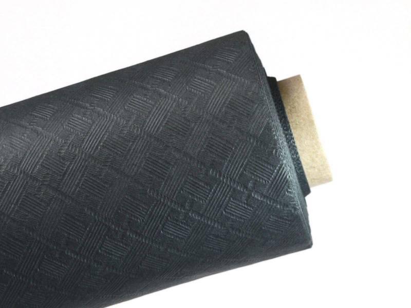 10m Nappe en papier damassé Mundo - Anthracite