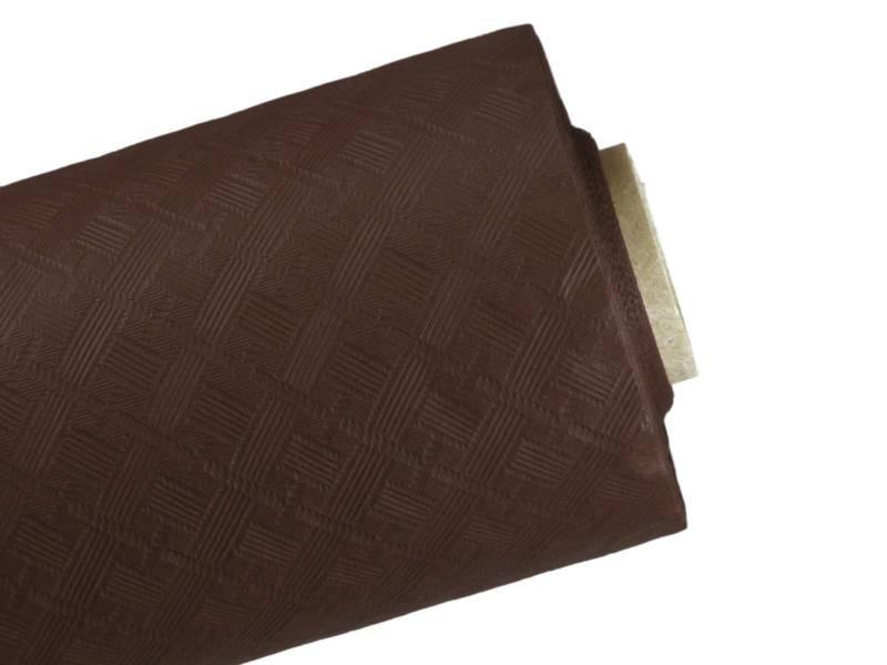 10m Nappe en papier damassé Mundo - Cacao
