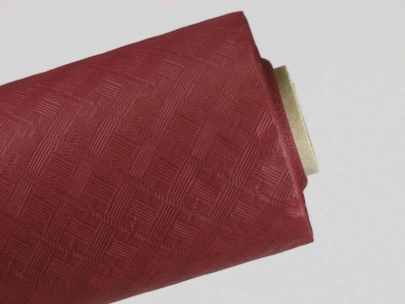 10m Nappe en papier damassé Mundo - Bordeaux