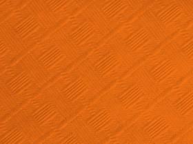 10m Nappe en papier damassé Mundo - Orange