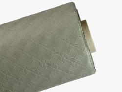 25m Nappe en papier damassé mundo - Golden Grey