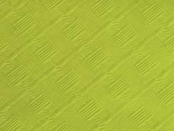25m Nappe en papier damassé mundo - Thé Vert