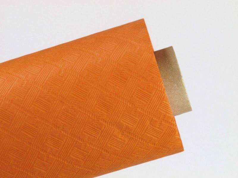 50m Nappe en papier damassé mundo - Orange