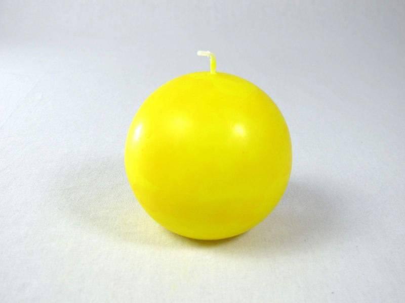 Bougie Boule - Citron