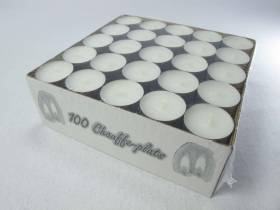 100 Bougie chauffe-plat