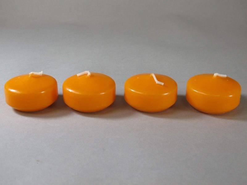 Bougie Flottante - Mandarine