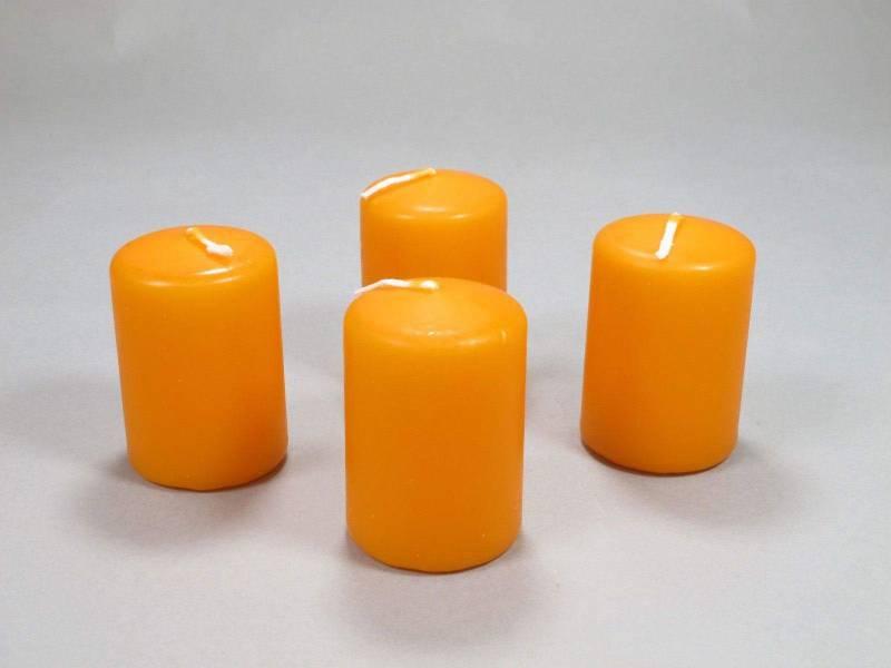 Bougie Cylindre - Mandarine 6x4cm