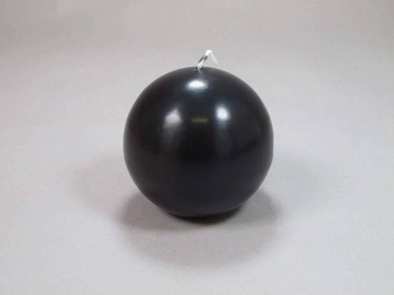 Bougie Boule - Noir Ø8cm