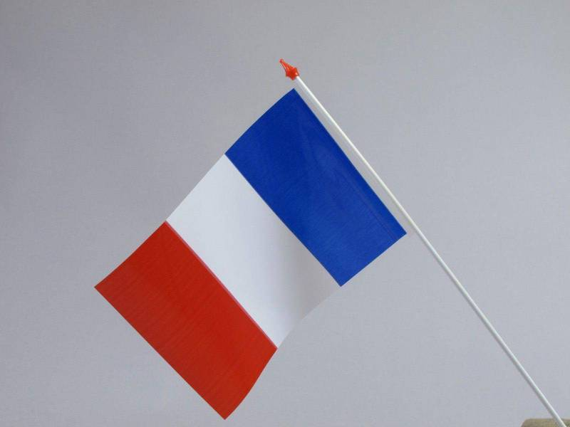 Petit Drapeau - France