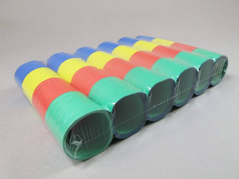 Serpentin 6 rouleaux - Multicolore