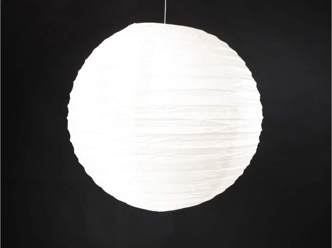 lampion papier 25cm blanc decofete. Black Bedroom Furniture Sets. Home Design Ideas