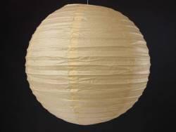 Lampion papier Ø50cm - Crème