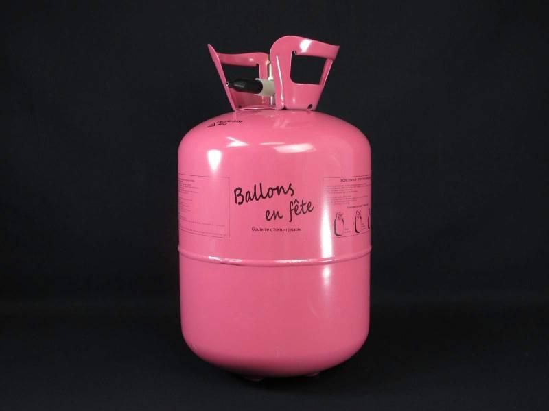 Bouteille d'hélium jetable +/- 30 ballons