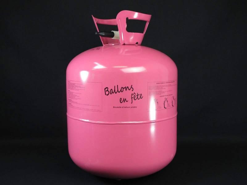 Bouteille d'hélium jetable +/- 50 ballons