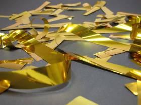 Grand Canon à confettis - Or
