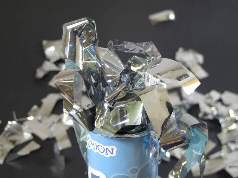 Grand Canon à confettis - Argent