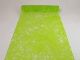 Chemin de table Romance - Vert Lime