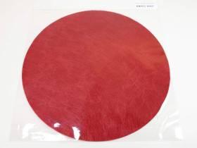 Set de table Romance Rond - Rouge x10