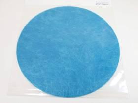 Set de table Romance Rond - Turquoise x10