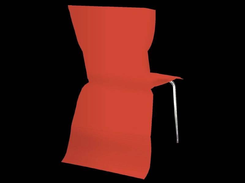 Housse de chaise élégance - Rouge