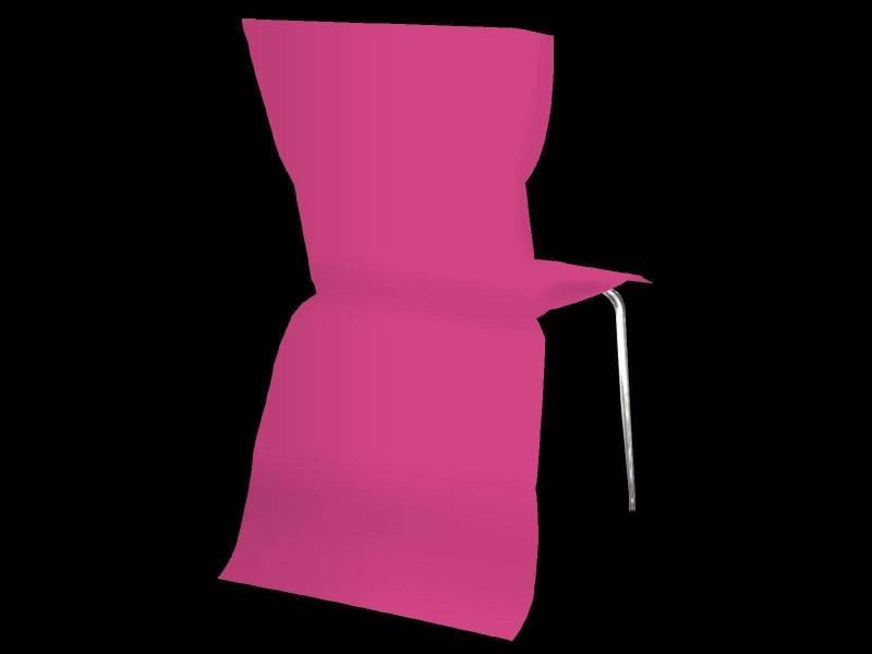Housse de chaise élégance - Fuchsia