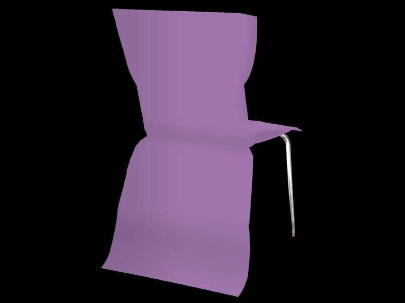 Housse de chaise élégance - Violet