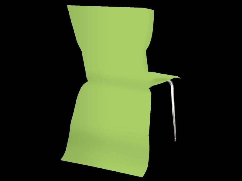 Housse de chaise élégance - Vert Lime