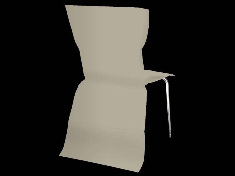 Housse de chaise élégance - Taupe