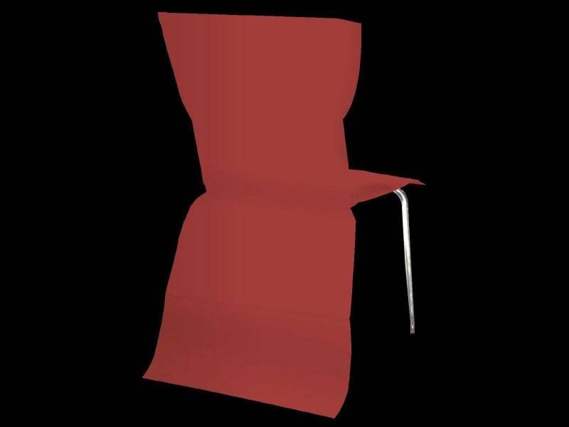 Housse de chaise élégance - Bordeaux