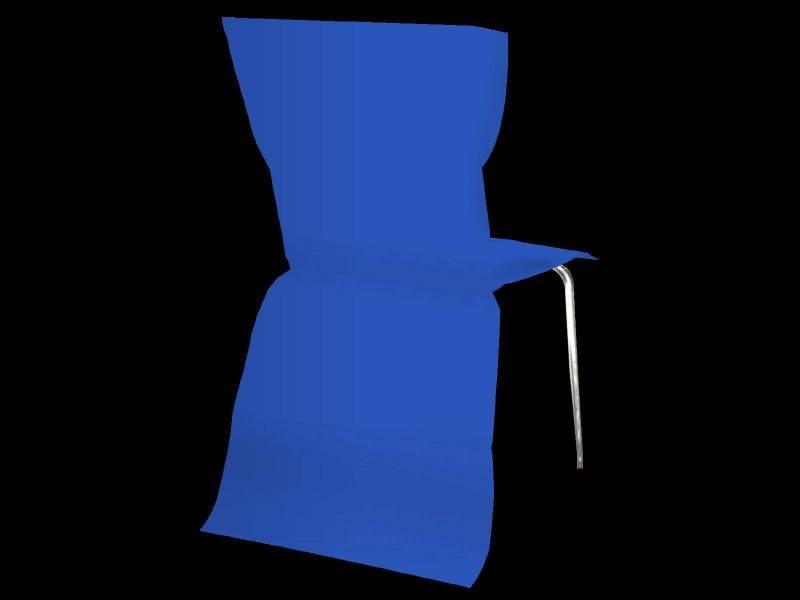 Housse de chaise élégance - Bleu Roi