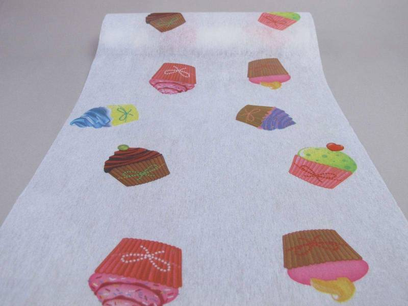 Chemin de table cupcake