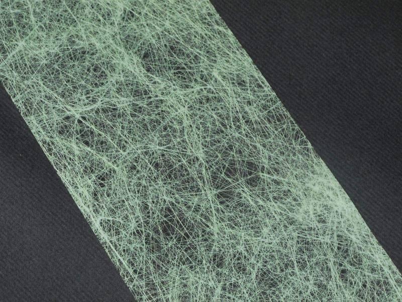 Ruban Romance 10cm - Vert pastel