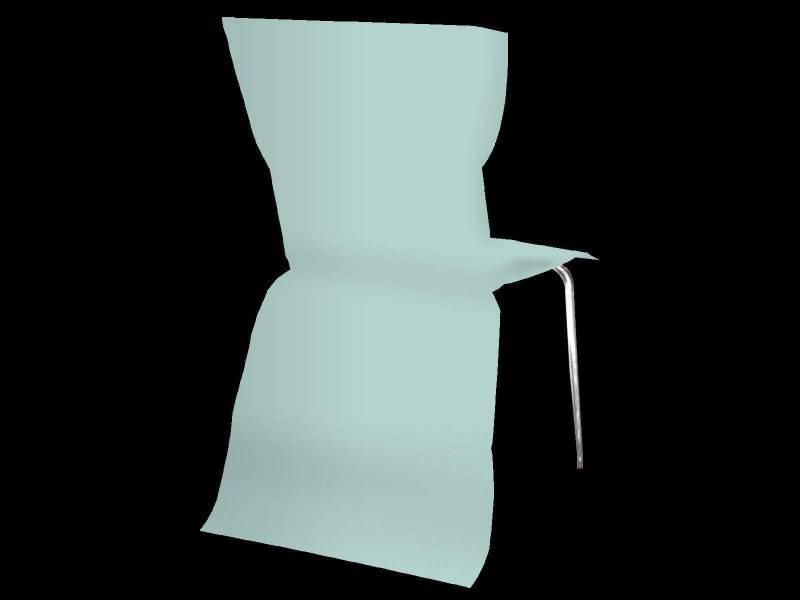 Housse de chaise élégance - Vert Pastel
