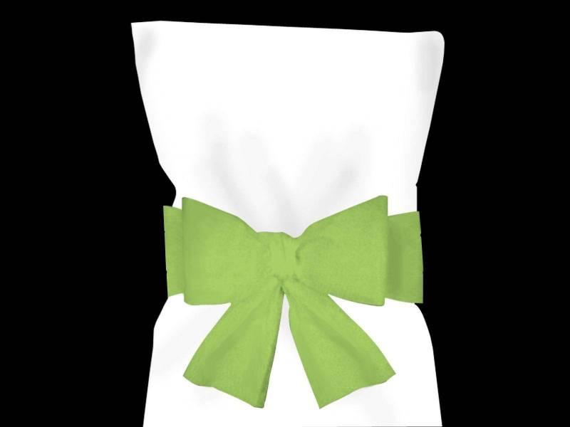 Noeud pour housse de chaise - Vert Lime