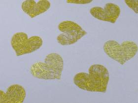 Confetti coeur romance - Or