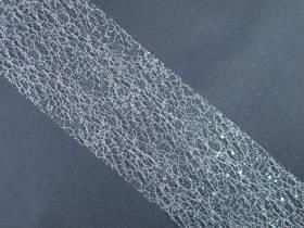 Ruban glitter 10cm - Irisé