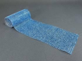 Ruban diamants 11,5cm  - Turquoise