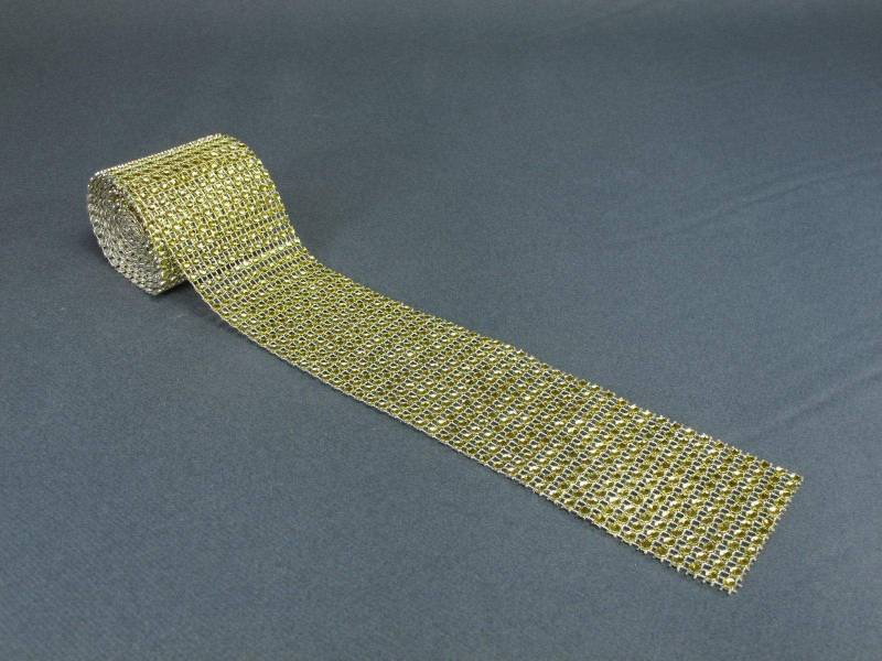Ruban diamants 6cm - Or