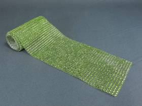 Ruban diamants 11,5cm  - Vert lime