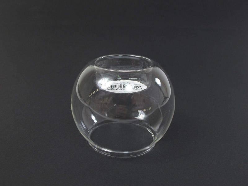 Bougeoir boule en verre reversible