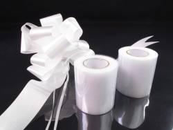 Kit décoration voiture mariage - Blanc