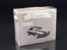 Kit décoration voiture mariage - Ivoire